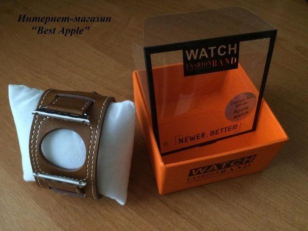 Кожаный Ремешок (браслет) Apple Watch Cuff Band для Apple Watch 42 мм