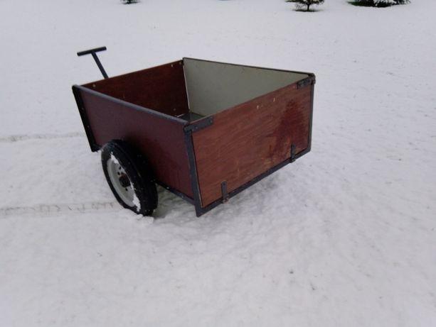 Wózek gospodarczy, przyczepka quad traktorek kosiarka
