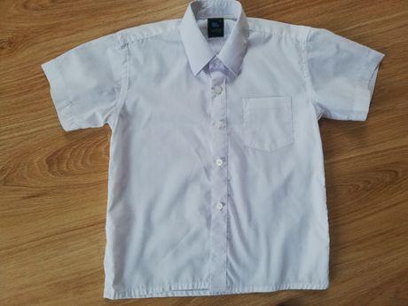 Biała koszula  galowa rozm. 128/134