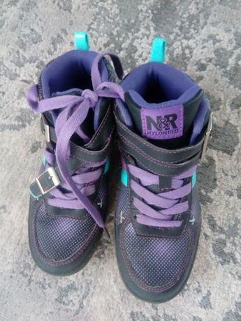Nylon red buty dziewczęce r.32
