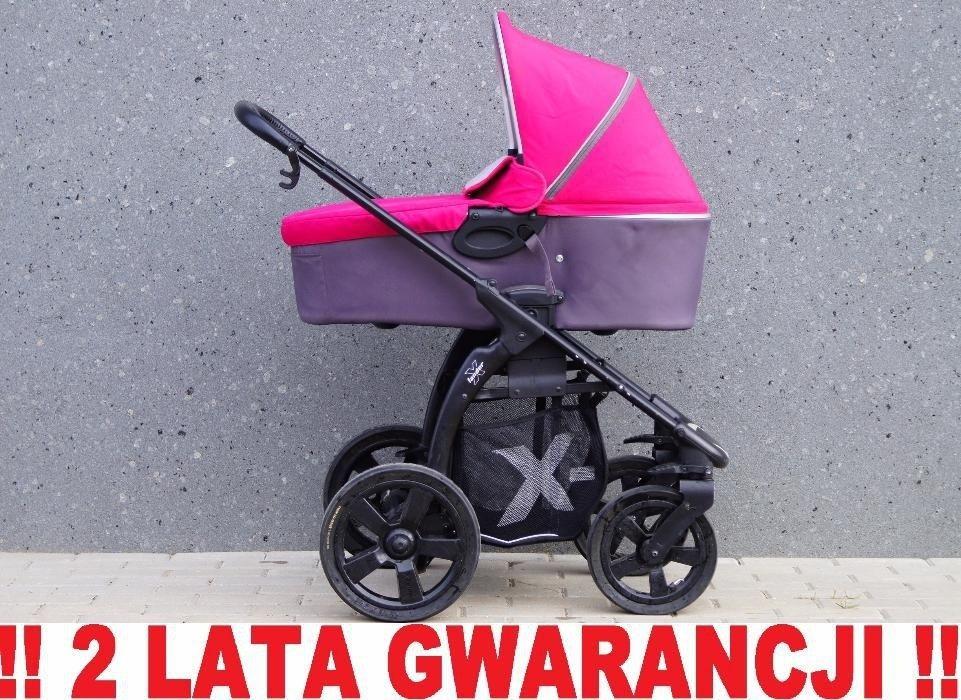 Wózek X-LANDER X-MOVE 3w1 kolor ASIA z fotelikim Maxi Cosi !! WYSYŁKA Elbląg - image 1