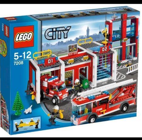 Lego city 7208 Пожарная часть