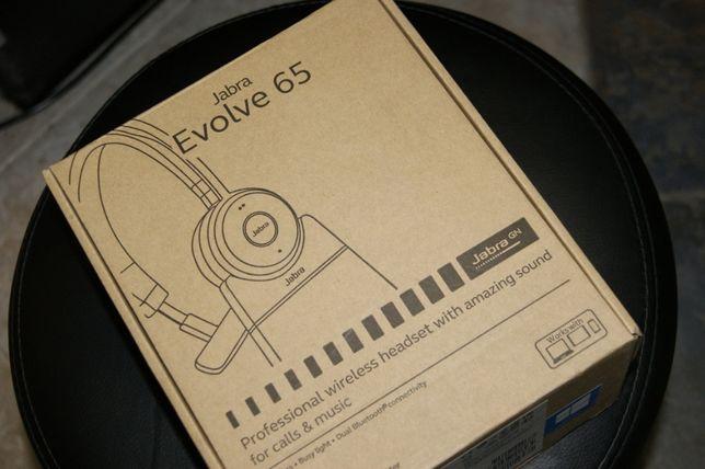 Profesjonalna słuchawka Jabra Evolve 65 z gwarancją! 100% Oryginał