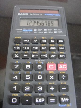 Инженерный калькулятор casio fx-260 solar