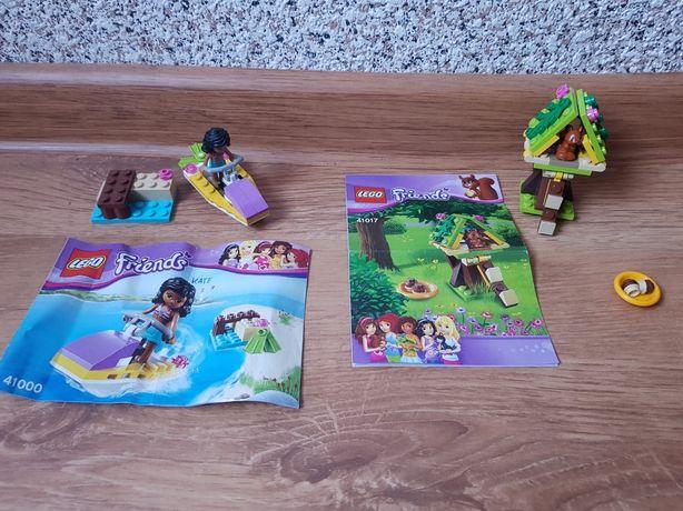 Lego Friends Skuter Wodny 41000 Lego Friends Domek Wiewiórki 41017
