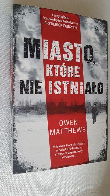 Nowa książka Miasto które nie istnieje Autor: Matthews Owen