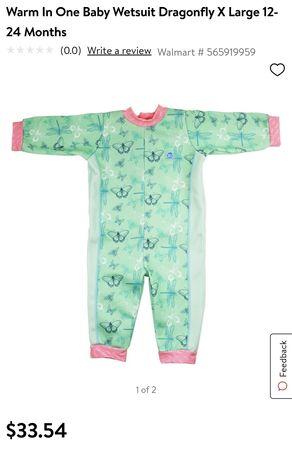 Детский гидрокостюм Warm In One Splash About для малышей 0-6 месяцев