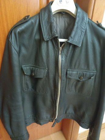 Blusão de Cabedal, Verde Escuro,  do Exército