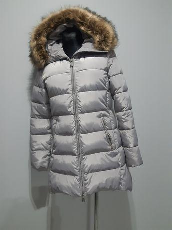 Płaszcz zimowy szary