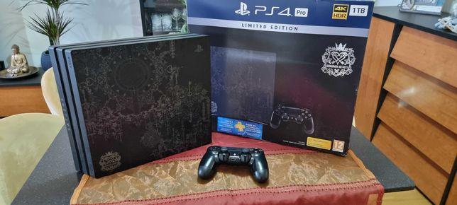 Consola PS4 PRO 1tb Kingdom hearts Limited Edition