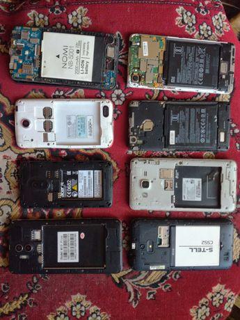 Samsung,Xiaomi,Huawei,Meizu,S-TELL и др.Запчасти одним лотом за 500грн