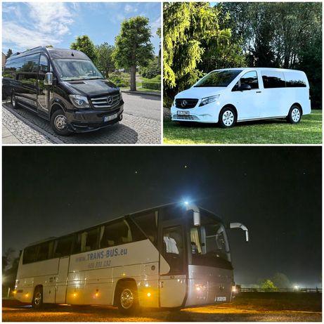 Wynajem busa z kierowcą Mercedes Sprinter 20+1