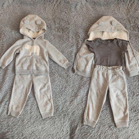 Костюм Carter's, трикотажные штаны, свитшот, толстовка, реглан, свитер