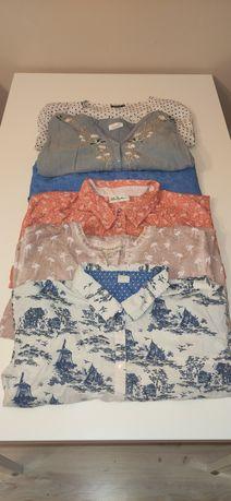 Zestaw modnych koszul 50/52 plus size