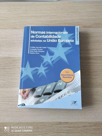 Livro Normas Internacionais de Contabilidade adoptadas na UE