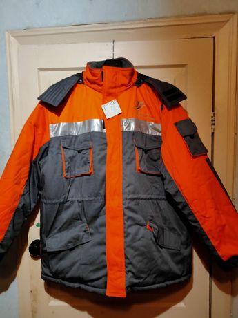 Продам куртку утепленную Харьковгоргаз 56 размера