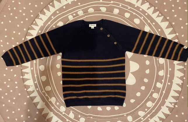 Elegancki Świąteczny Sweter Sweterek Newbie 2-4 lata Chłopięcy