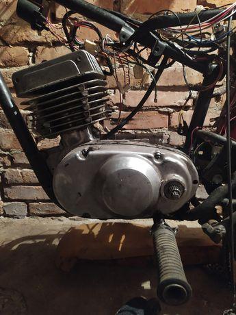 Мотор мотоцикла Минск