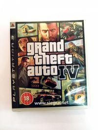 Grand theft auto IV PS3 GTA IV PS3