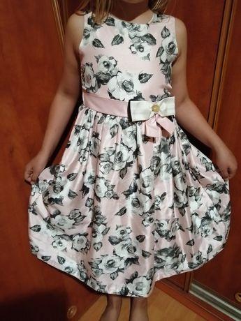Extra sukienka dla dziewczynki na wzrost 140cm