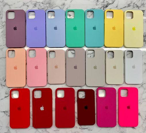 Чехол Full Silicone Case iPhone 6s/7+/8 Plus/X/Xr/11 Pro Max/12/Айфон