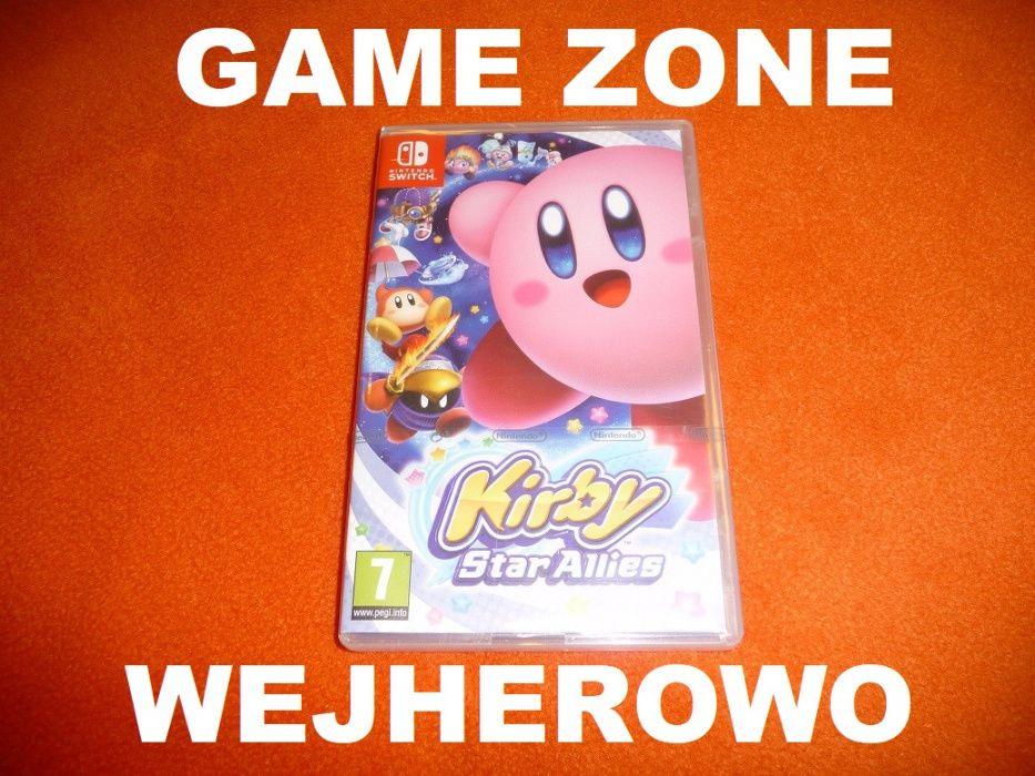 Kirby Star Allies Nintendo SWITCH + Lite = Wejherowo = jak Mario