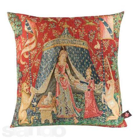 Декоративные гобеленовые подушки из Франции