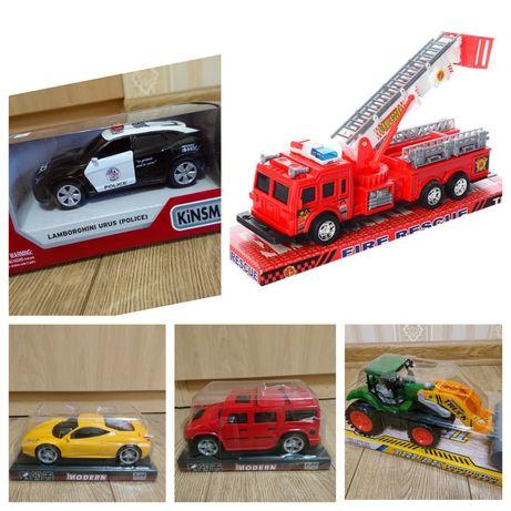 Детская машинка инерционная,машинка пожарная,трактор,полицейская