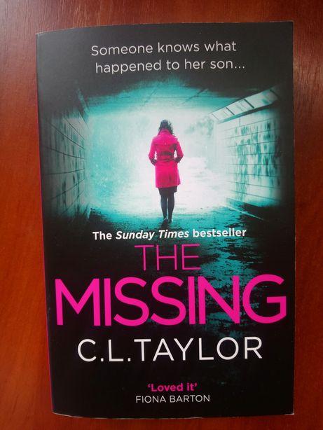 Книга C.L Taylor The missing . В идеальном состоянии .