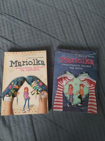 2 części książki seria Mariolka