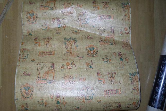 Tapeta samoprzylepna egipski wzór