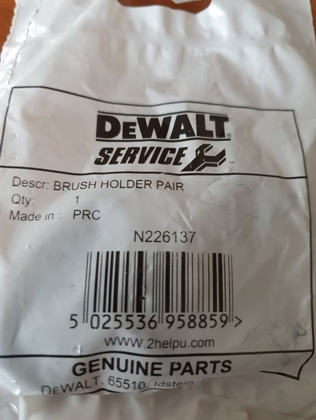 Щёткодержатель с щёткой для дисковой пилы DeWalt DWE575/DWE576 ,N22613