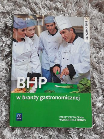 BHP w branży gastronomicznej podręcznik