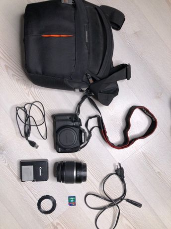 Canon 500d + чехол