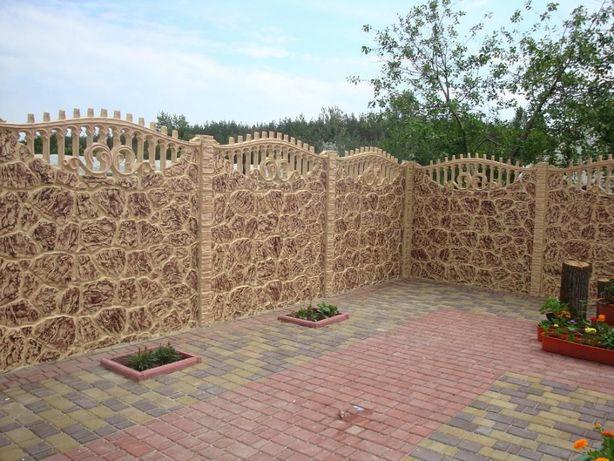 деревянный забор вінниця