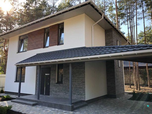 Новий приватний будинок в м.Буча,лісова частина міста!