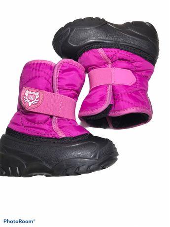 Зимние сапожки ботинки для девочки Kamik, demar, ecco 23-24 р