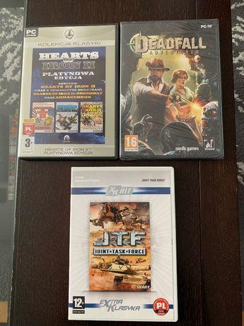 Gry PC: Hearts of Iron II, Deadfall, JTF