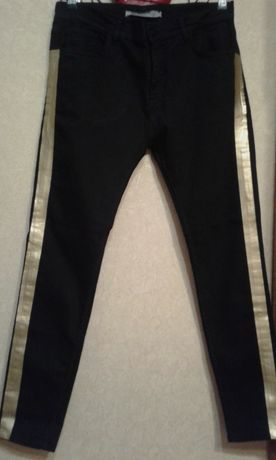 Джинсы черные Zara Man 32