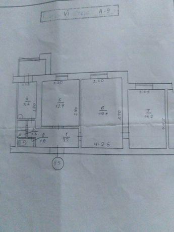 Продам 3-х комнатную квартиру в г. Днепрорудном