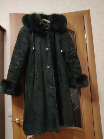 Натуральная дублёнка, пальто,кожаное пальто, дублёнка