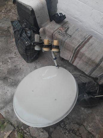 Продам или обменяю спутниковую тарелку в нормальном состоянии!