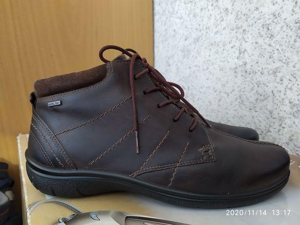 Кожаные женские ботинки от ECCO р.39-40(5.5-6) / Jack Wolfskin