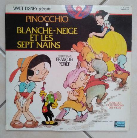 LPs da Walt Disney com músicas dos filmes anos 60