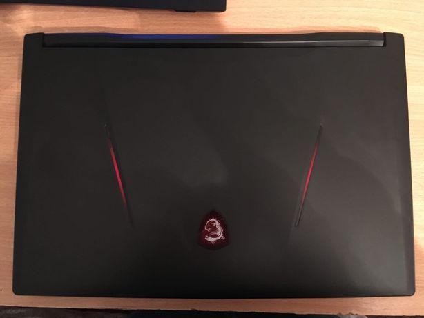 Продам игровой ноутбук 17.3 MSI GL 73 8RE