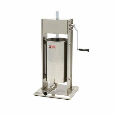 Máquina de enchidos Manual de 15 Litros - chouriças salsicha