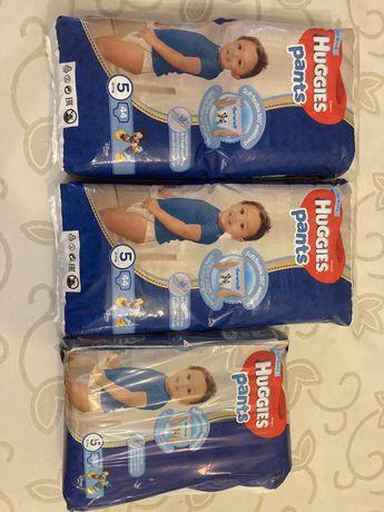 Трусики-подгузники Huggies Pants 5 Mega Підгузки для мальчиков 44 шт