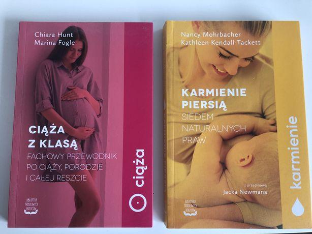 Książki ciąża z klasą i karmienie piersią biblioteka troskliwych rodzi