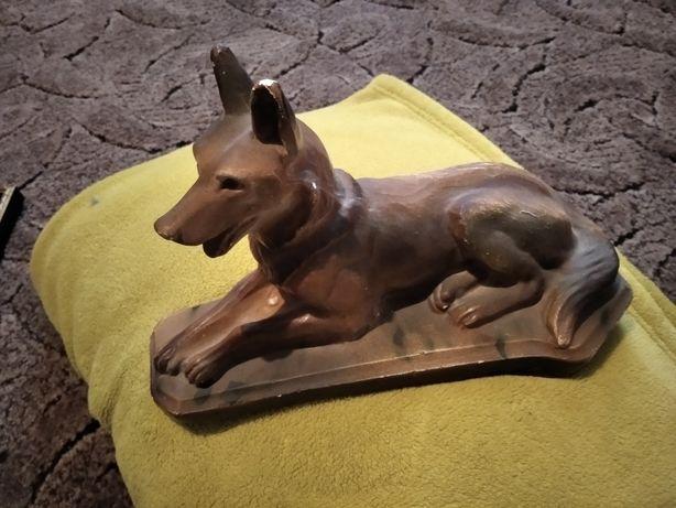Figurka psa przedwojenna