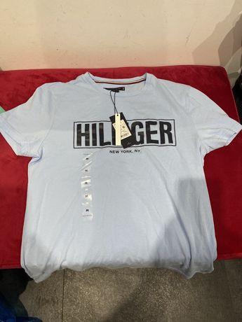 Koszulka Tommy Hilfiger niebieska